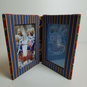 Vera Bradley Double 4X6 Picture Frame Quilted